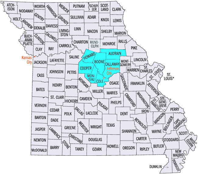 missouri services area 2017