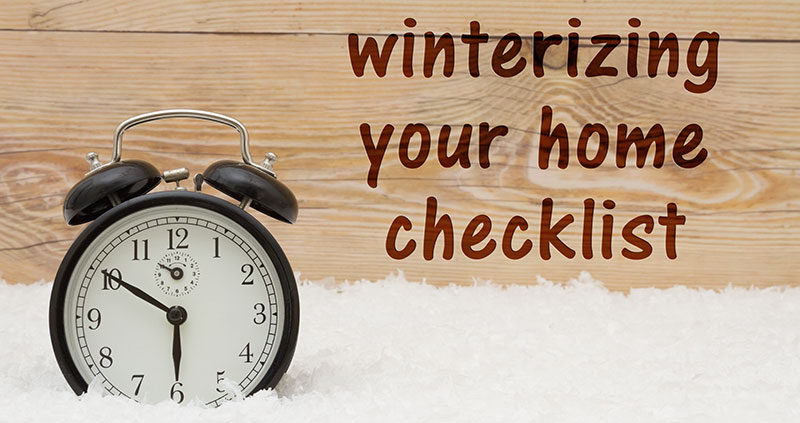 How to Winterize Home